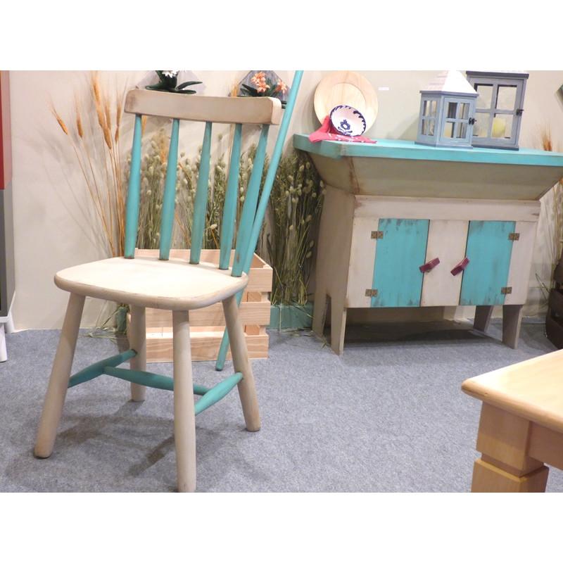 Silla sillas silla vintage silla pino silla comedor for Sillas salon vintage