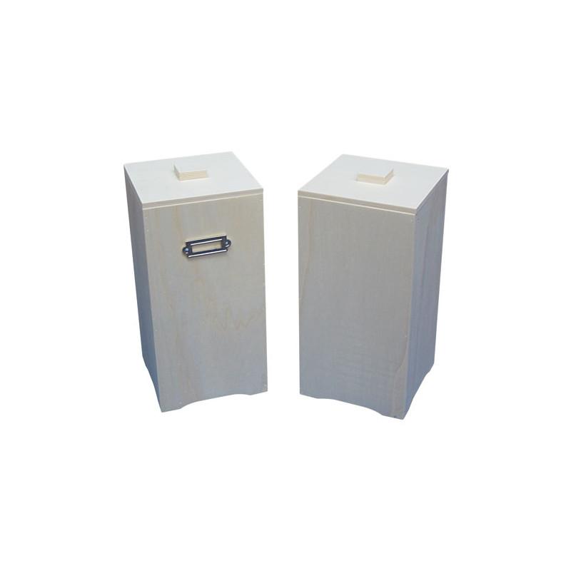 Caja vertical