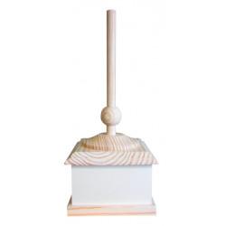 Lámpara mesa cuadrada serie Karobi