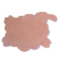 Aplique oveja serie Karobi (2 lados)