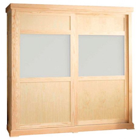 Armario armario pino armario puertas correderas armario for Armarios roperos puertas correderas