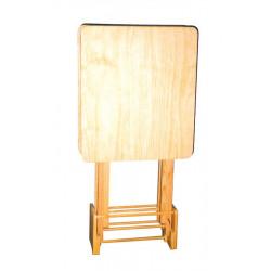 Juego mesas auxiliares con soporte