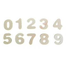 Aplique número 0 (5 uds.)