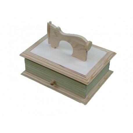 Caja máquina de coser