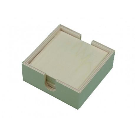 Posa vasos (caja + 6 unidades)
