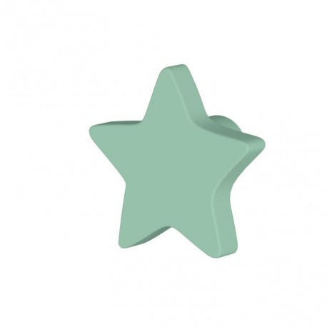 Pomo estrella color Verde (unidad)