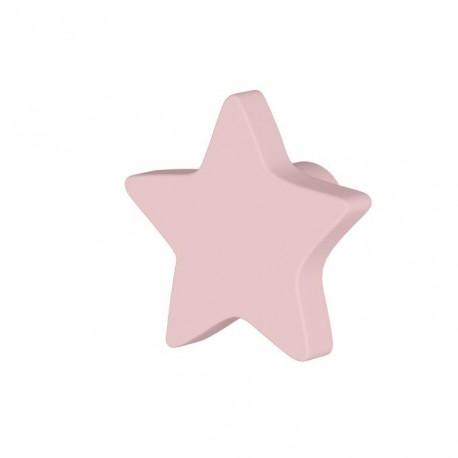 Pomo estrella color Rosa (unidad)