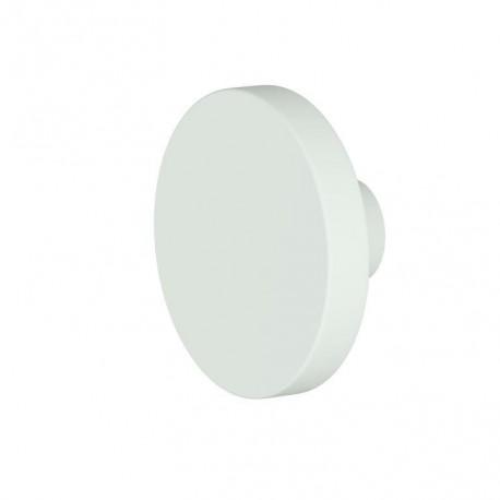 Pomo circulo color Blanco Roto (unidad)