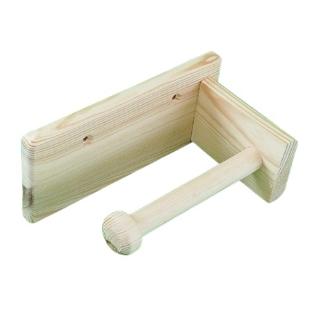 Porta-rollos baño línea recta