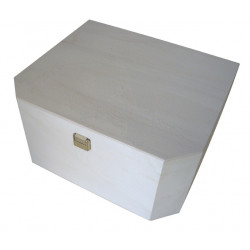 Caja hexagonal costura