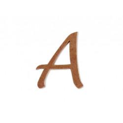 """Silueta letra mayúscula """"A""""."""
