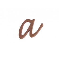 """Silueta letra minúscula """"a"""""""